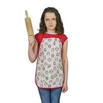 Dziecięcy fartuszek Sowy, 42 x 55 cm