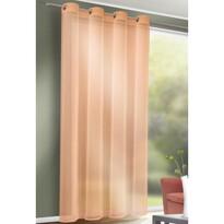 Záves s krúžkami Till oranžová, 140 x 245 cm