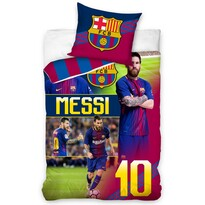 Bavlnené obliečky FC Barcelona Messi, 140 x 200 cm, 70 x 90 cm