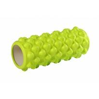 Fitness masážní válec světle zelená, 33 x 15 cm