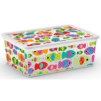 KIS Dekorační úložný box C Box Style Tender Zoo S, 11 l