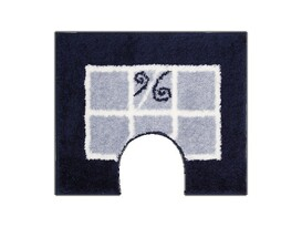 WC predložka Grund MERIDA modrá, 60 x 50 cm