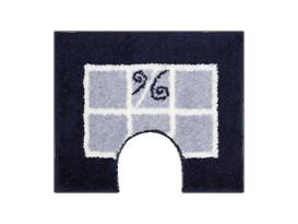 WC předložka Grund MERIDA modrá, 60 x 50 cm
