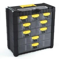 Závesný box na skrutky 9 priehradiek XL