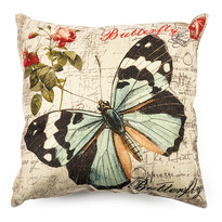 Butterfly párnahuzat, 45 x 45 cm