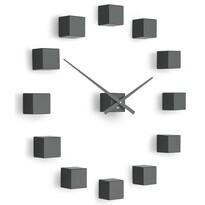 Future Time FT3000TT Cubic titanium Designowe zegar samoprzylepny, śr. 50 cm