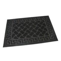 Venkovní rohožka kartáčová Rectangles, 40 x 60 cm