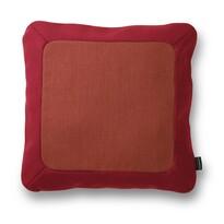 Polštářek Frame 50 x 50 cm, červený