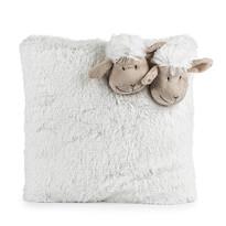 Poduszka owieczka biały, 35 x 35 cm