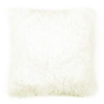 Obliečka na vankúšik Chlpáč Peluto Uni biela, 40 x 40 cm