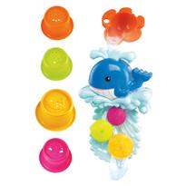 Set de jucării de baie Balenă Bino