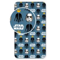 Detské bavlnené prestieradlo Star Wars 2017, 90 x 200 cm