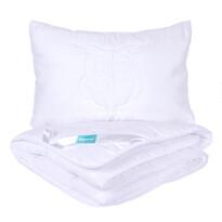 4Home Komplet kołdry i poduszki dla dzieci Sówka, 90 x 130 cm, 40 x 60 cm