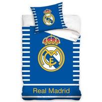 Pościel bawełniana Real Madrid Double, 140 x 200 cm, 70 x 80 cm