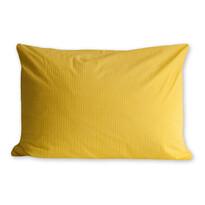 Obliečka na vankúš krep žltá, 70 x 90 cm