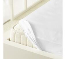 Kleine Wolke prestieradlo mako jersey biela, 90 x 200 cm