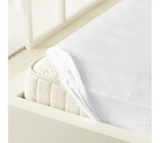 Kleine Wolke prostěradlo mako jersey bílá, 90 x 200 cm