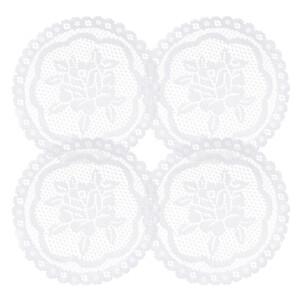Suport decorativ Rozálie, diametru 20 cm, set 4 buc.