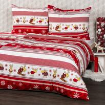 Lenjeria de pat din flanelă 4Home Reni