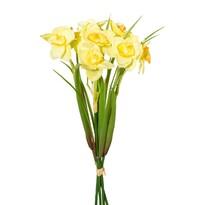 Umělá kytice Narcis žlutá, 30 cm