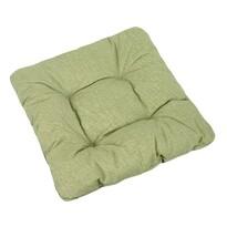 Sedák Ivo zelená režná, 40 x 40 cm, sada 2 ks