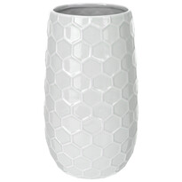 Wazon ceramiczny Honey, szary