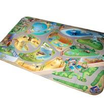 Dywan dla dzieci Ultra Soft ZOO, 70 x 95 cm
