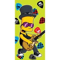 Bart guitar music törölköző, 75 x 150 cmzöld, 75 x 150 cm
