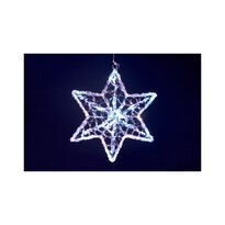 Vianočná hviezda, 16 LED