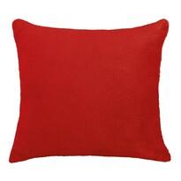 Poduszka- jasiek Korall mikro, czerwona, 38 x 38 cm