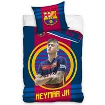 Lenjerie de pat Neymar JR, 1 pers., 140 x 200 cm, 70 x 90 cm