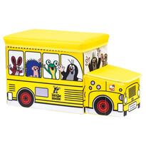 Bino Krabice na hračky Krtek bus