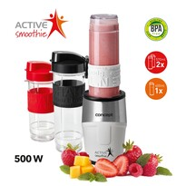 Concept SM3380 Smoothie maker  Active Smoothie 500 W bílá 2 x 570 ml + 400 ml