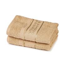 4Home Bamboo Premium ręczniki beżowy, 50 x 100 cm, 2 szt.