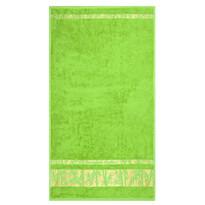 Osuška Bamboo Gold světle zelená, 70 x 140 cm