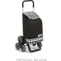 Gimi Tris Optical nákupná taška na kolieskach čierna