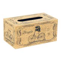 Pudełko na chusteczki Bicycle, 25 cm