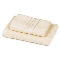 4Home Komplet Bamboo Premium ręczników kremowy, 70 x 140 cm, 50 x 100 cm