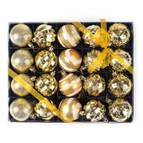 Luxusný set vianočných gulí 20 ks