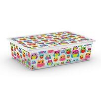KIS Dekorační úložný box C Box Style Tender Zoo L, 27 l