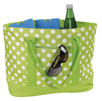 Chladicí nákupní taška puntík 22 l, zelená