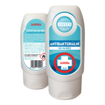 Topvet Antibakteriálny gél na ruky Jahoda, 50 ml