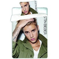 Bavlnené obliečky Justin Bieber, 140 x 200, 70 x 90 cm