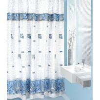 Perdea de duș Scoici albastră, 180 x 200 cm