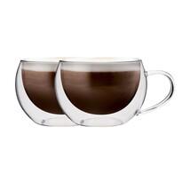 """Maxxo """"Cappucino"""" 2-dielna sada termo pohárov, 300 ml"""