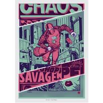 Plagát Savage Shopper 50 x 70 cm, digitálna tlač