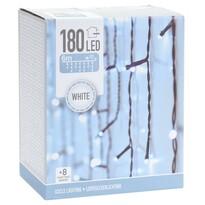 Lampki świetlne Icicle biała, 180 LED