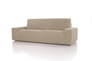 Husă multielastică Cagliari, pentru canapea, ecru