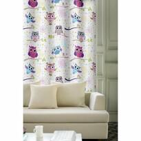 Bagoly függöny lila, 150 x 245 cm