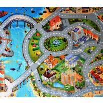 Dywan dla dzieci Ultra Soft Miasto, 70 x 95 cm